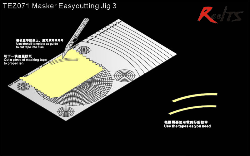 RealTS Voyager TEZ071 Masker Easycutting Jig 3 (GP)RealTS Voyager TEZ071 Masker Easycutting Jig 3 (GP)