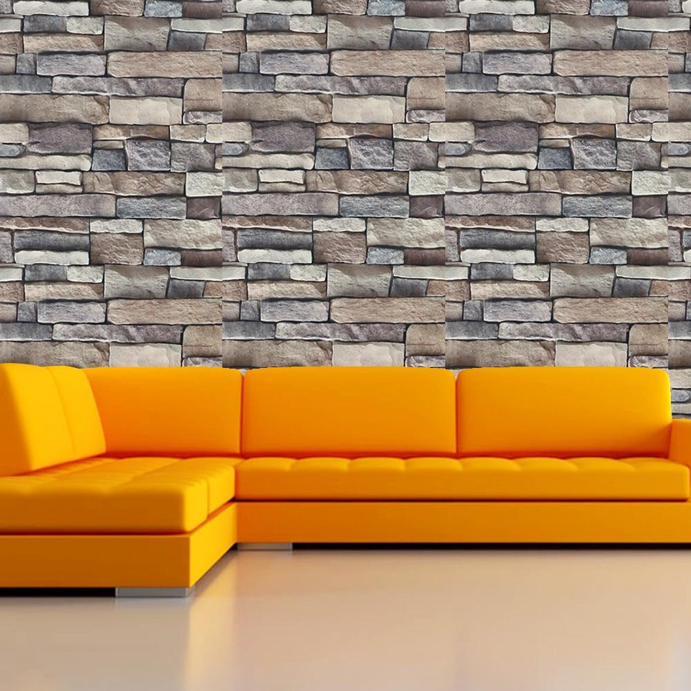 Adhesive paste rock wall stickers living room bedroom - Bande adhesive murale ...