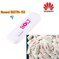 1000pcs Original Unlocked 150Mbps Huawei E8372 E8372h 153 4G LTE Wifi Modem dongle ( plus a pair of antenna ) ,DHL delivery
