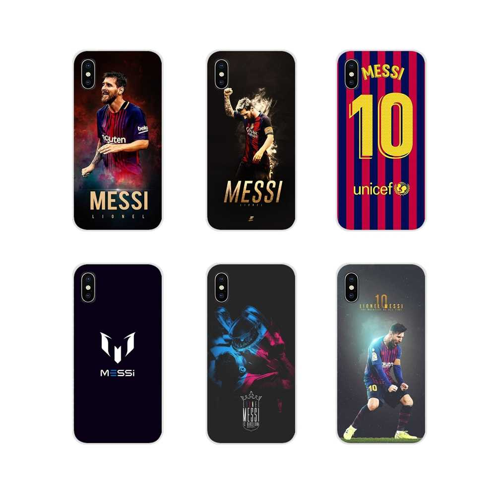 For Apple iPhone X XR XS MAX 4 4S 5 5S 5C SE 6 6S 7 8 Plus ipod touch 5 6 Accessories Phone Cases Covers Leo Messi lionel