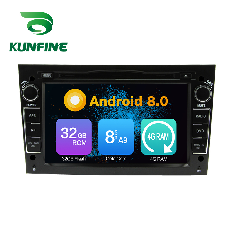 Octa Core 4GB RAM Android 8.0 Car DVD GPS Navigation Multimedia Player Car Stereo for OPEL Astra Antara Vectra Corsa Zafira