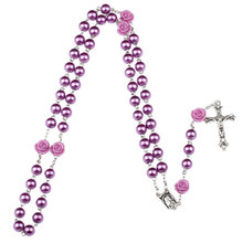 popular purple rosary buy cheap purple rosary lots