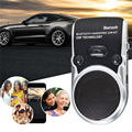 Solar Power Bluetooth Car Kit Wireless Speakerphone Handsfree Phone Call Auto Speakers For Mobile Phone Dual Phone Connect