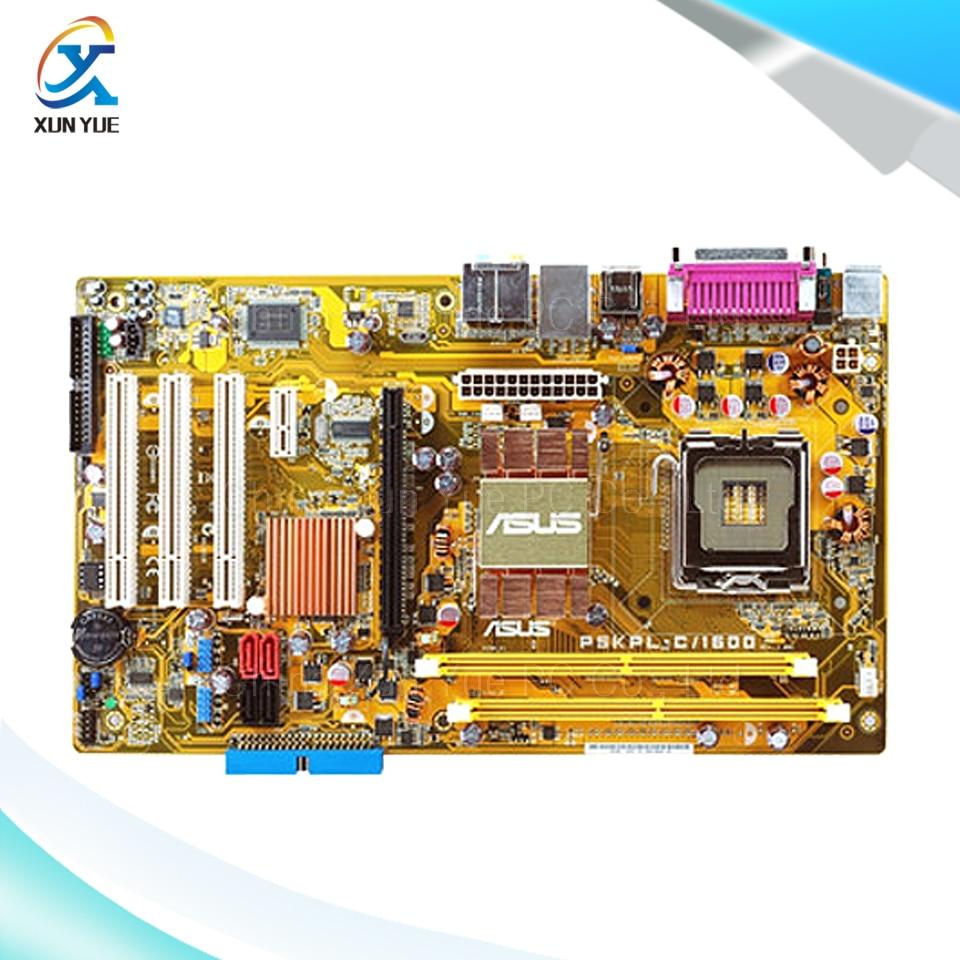 Asus P5KPL-C/1600 Original Used Desktop Motherboard G31 Socket LGA 775 DDR2 4G SATA2 USB2.0 ATX asus original motherboard g31m s2l g31 ddr2 lga 775 motherboard