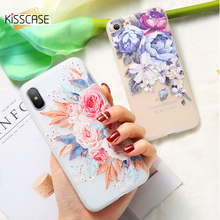 KISSCASE Flower Girly Case For Huawei P10 P20 Lite Pro Soft TPU Phone Mate 10 9 20 Funda Cover