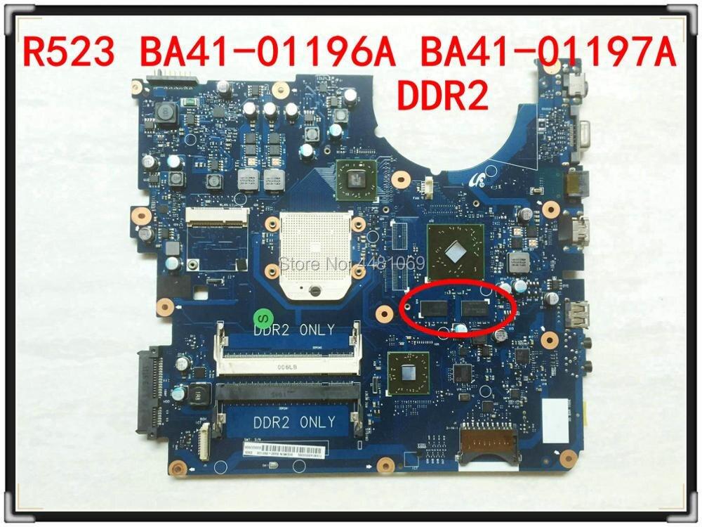 For Samsung NP-R523 R523 Motherboard BA92-06013B BA92-06013A Mainboard BA41-01196A  BA41-01197A BA41-01198A HD5470 DDR2
