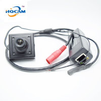 Poe Ip Camera Mini Microphone 720P Onvif P2p Mini Ip Pinhole Camera POE Support Phone Remote