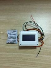 цена на FREE SHIPPING New and original 24GHz Microwave Ranging Radar + Display Body Sensor Level Radar Sensor FMCW