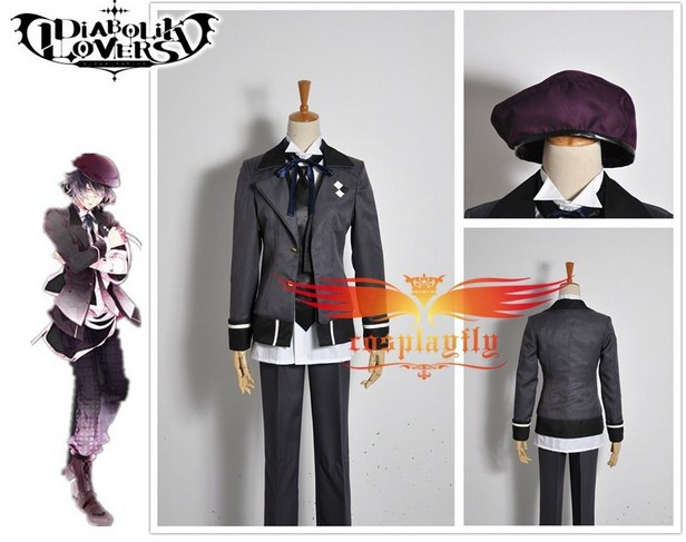 New Arrival Anime Diabolik Lovers Mukami Azusa Cosplay Costume