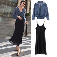 59a7b3da6 Promoción de Elegante Mujer Pantalones Y Blusa Set - Compra Elegante ...