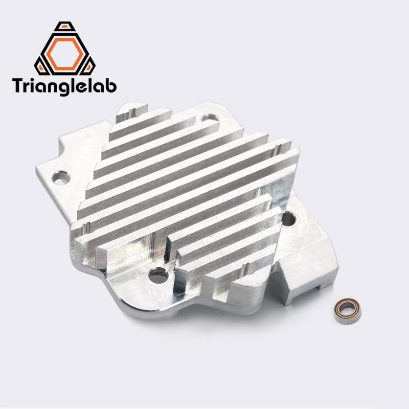 Trianglelab 3d printer Titan Aero Upgrade Heatsink Titan extruder and V6 Hotend Reprap  i3 3D printer parts free shipping 3d printer accessory reprap j head mkiv mkv hotend nozzle wade bowden extruder for choice top quality free shipping
