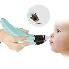 2018 для новорожденных Уход За Младенцами Назальный аспиратор Snot нос очиститель Электрический Детская безопасность всасывания носовой абсорбции