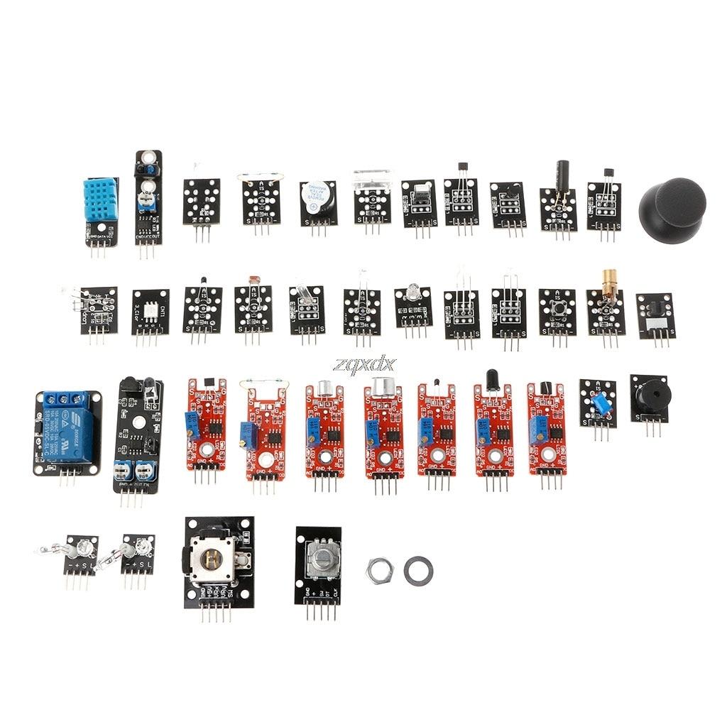 37-в-1 Сенсор модуль комплект для Raspberry Pi MCU Дело Box 3D печать часть Z07 Прямая поставка ...