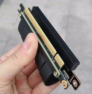 Image 5 - 肘デザイン Gen3.0 PCI E 16x に 16 × 3.0 ライザーケーブル 5 センチメートル 10 センチメートル 20 センチメートル 30 センチメートル 40 センチメートル 50 センチメートルの pci express の pcie X16 エクステンダー直角