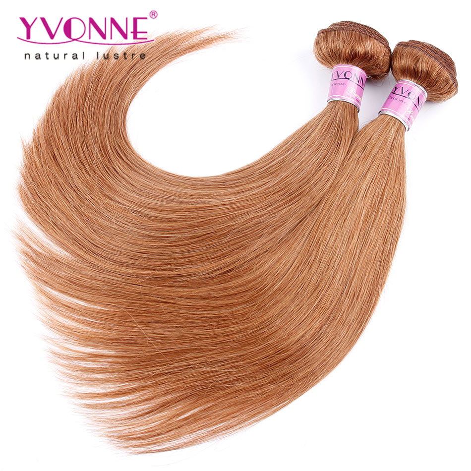 ФОТО 3 Bundles Cambodian Hair Color #30,100% Straight Human Hair Weave,Top Quality Aliexpress YVONNE Hair Products