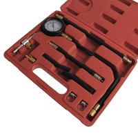 New Fuel Pump Pressure Testers Injection system Test Gauge Set Car Testing Tool Drop shipping