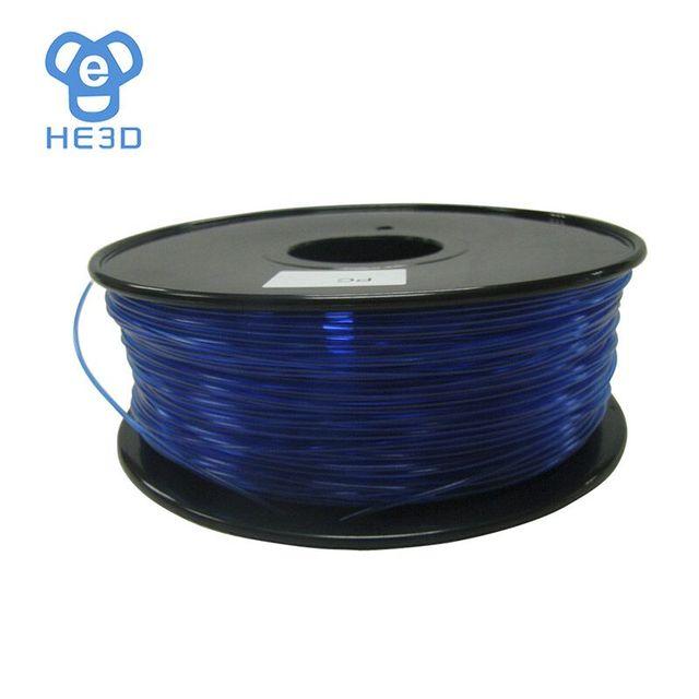 Natural color 3d printer filament PC(Polycarbonate) 1.75mm/3mm 1kg plastic Rubber Consumables Material
