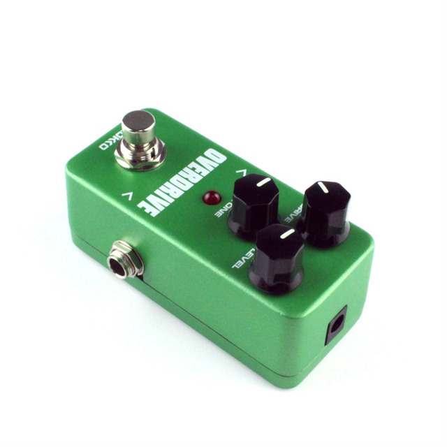 Mini KoKKo Vintage Overdrive Guitar Effect Pedal Guitarra Overdrive Booster High-Power Tube Overload Guitar Stompbox FOD3