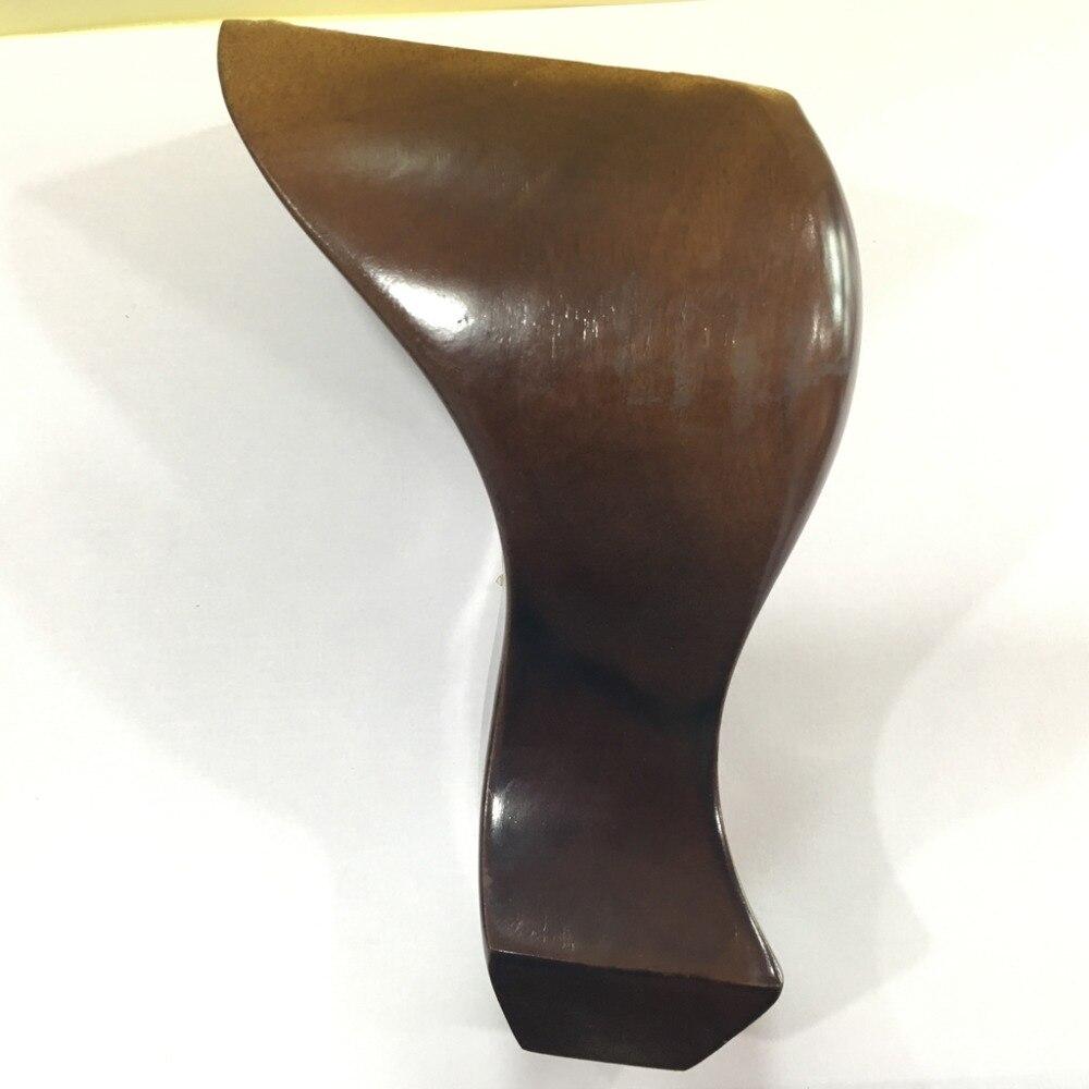 (4 Teile/los) Sofa Holz Beine Schränke Tische Stuhl Füße Für Möbel Beine 15 Cm Höhe Um 50 Prozent Reduziert