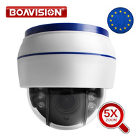 HD 1080P Wireless PTZ IP Camera Wifi CCTV Speed Dome Camera Onvif 5X Optical Zoom Indoor Audio SD Card IR 20m P2P CamHi