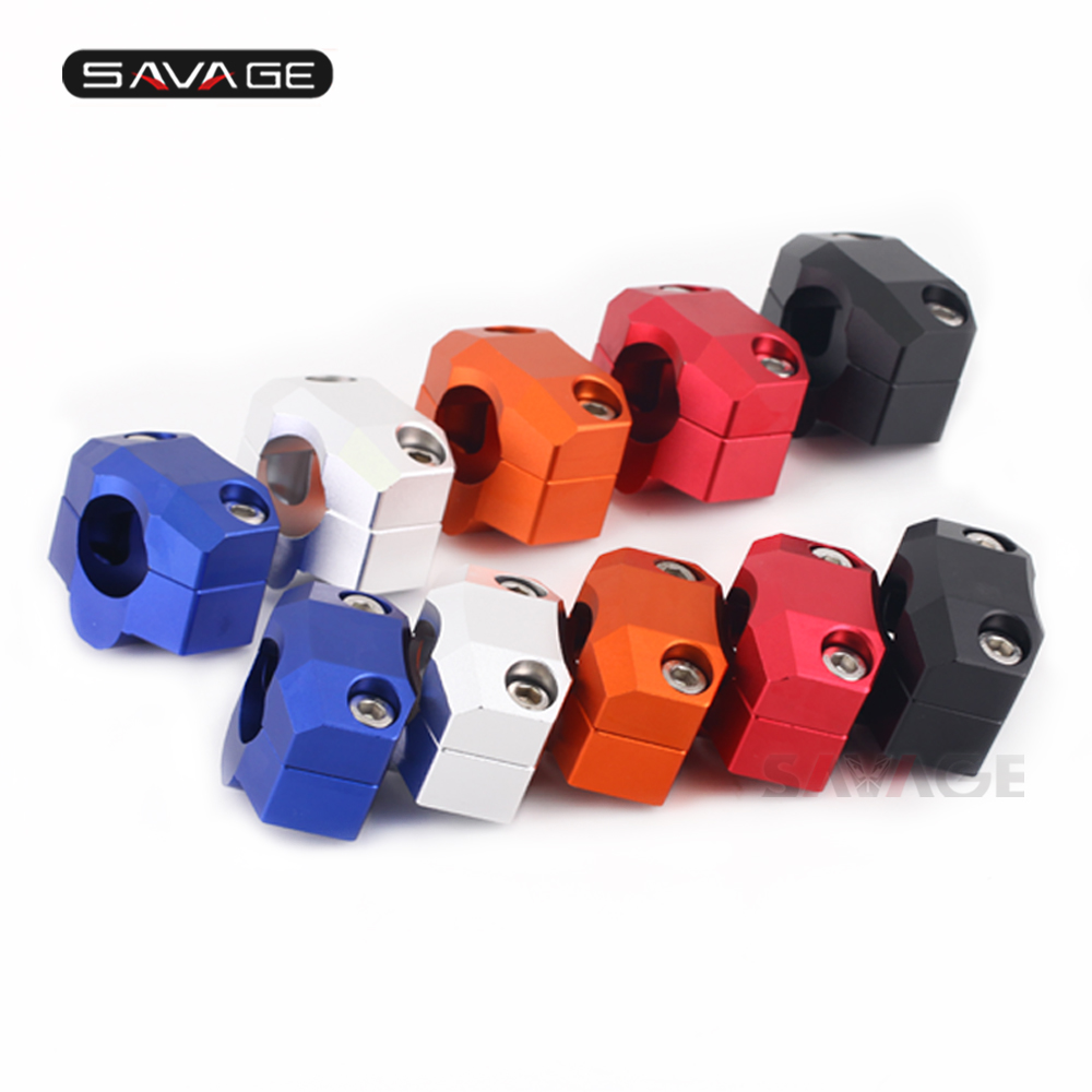 Increased Height 20mm Riser Handlebar Clip Adapter For HONDA CB 1000R 2011-2020 2019 <font><b>2018</b></font> Motorcycle Accessories <font><b>CB1000R</b></font> image