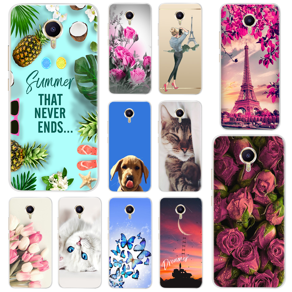 Soft TPU <font><b>Cover</b></font> For <font><b>Meizu</b></font> M3 <font><b>M3S</b></font> A5 M5C M5S M5 Mini Meilan M3 Note Silicone <font><b>Back</b></font> <font><b>Cover</b></font> Bumper Case For <font><b>Meizu</b></font> M5 Note Phone Cases image