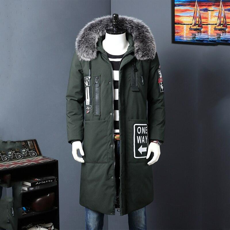Casual & Fashion รัสเซียฤดูหนาวแจ็คเก็ตชายแบรนด์ Tace & Shark เป็ดสีขาวลงเสื้อแจ็คเก็ตผู้ชาย Thicken ขนสัตว์คอยาวลงเสื้อผู้ชาย-ใน แจ็กเก็ตดาวน์ จาก เสื้อผ้าผู้ชาย บน AliExpress - 11.11_สิบเอ็ด สิบเอ็ดวันคนโสด 1
