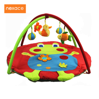 Educational Toys Baby Game Play Gym Mat Infant Blanket 3D Activity Play Mat Frog Cartoon