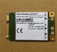 Original MC7455 Sierra Wireless FDD TDD LTE 4G CAT6 DC HSPA GNSS WWAN Card USB 3