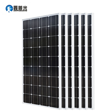 2PCS 4PCS 6PCS 8PCS 100Watt 18V Solar Panel  Monocrystalline Silicon Modul Home Charger ES/AU/RU/UA/CA Stock
