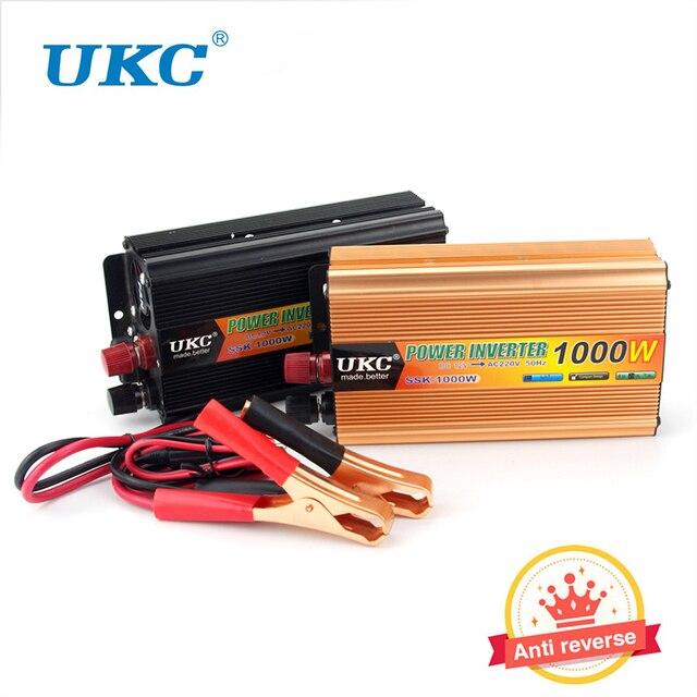 12 V a 220 V Auto Car Modificado Sine Wave Power 1000 W Inversor Conversor USB Carregador Do Cigarro Do Carro Mais Leve para o Adaptador de Notebook