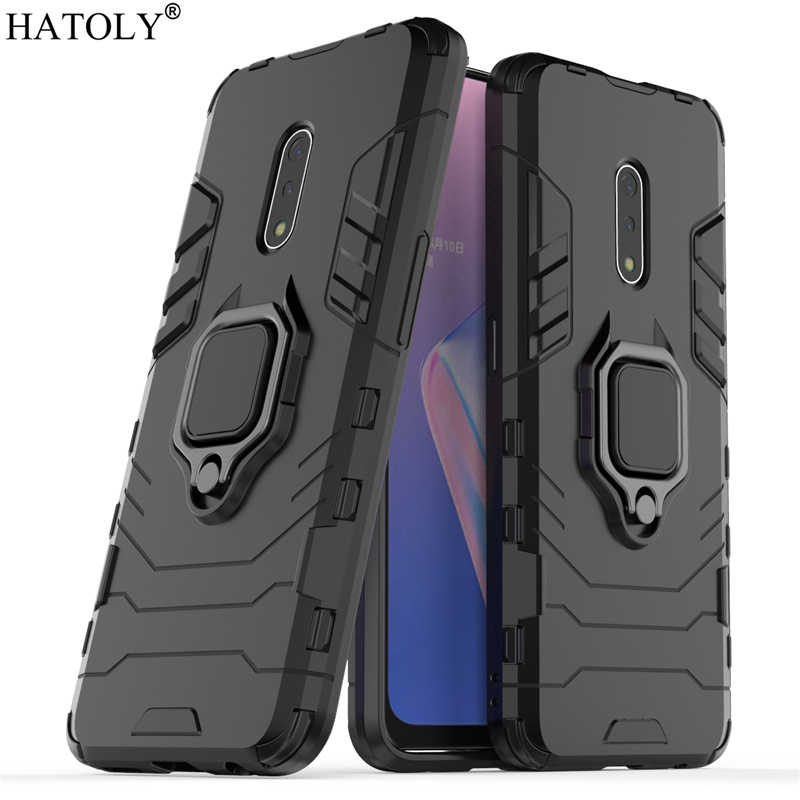 OPPO K3 Case Cover for Magnetic Finger Ring Phone Shell Bumper Protective Hard PC TPU Armor For