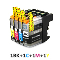 4PK LC223 225 ink cartridges For Brother MFC-J5320DW J5620DW J5625DW DCP-J562DW J480DW J680DW J880DW Inkjet Printer Cartridge