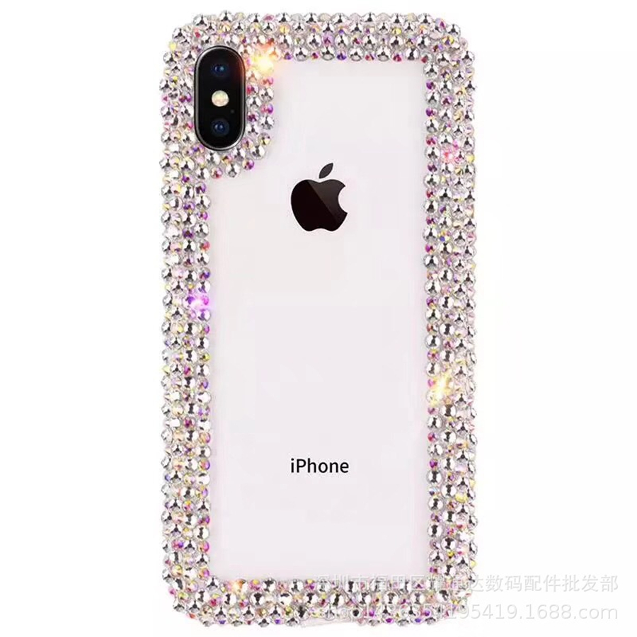 BoLaQi Jewelled phone case for oppo A3 F1S F7 Luxury Bling Diamond Transparent soft case for NEO 9 find 9 plus fashion Female