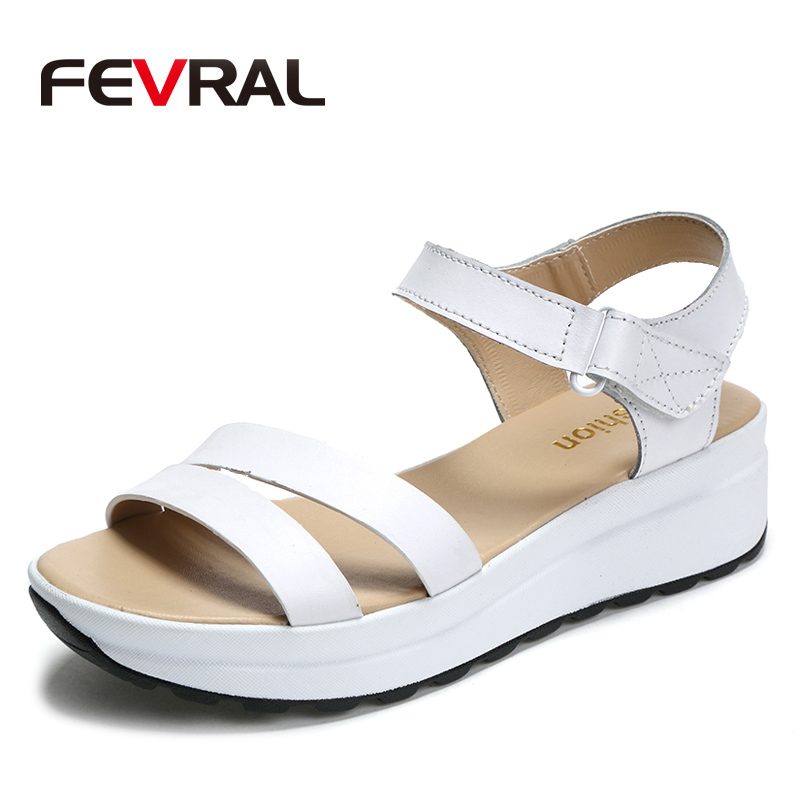 FEVRAL 2018 New Gladiator Woman Shoes Roman Sandals Shoes Woman Sandals Peep-toe Flat Shoes Woman Sandalias Mujer Sandalias