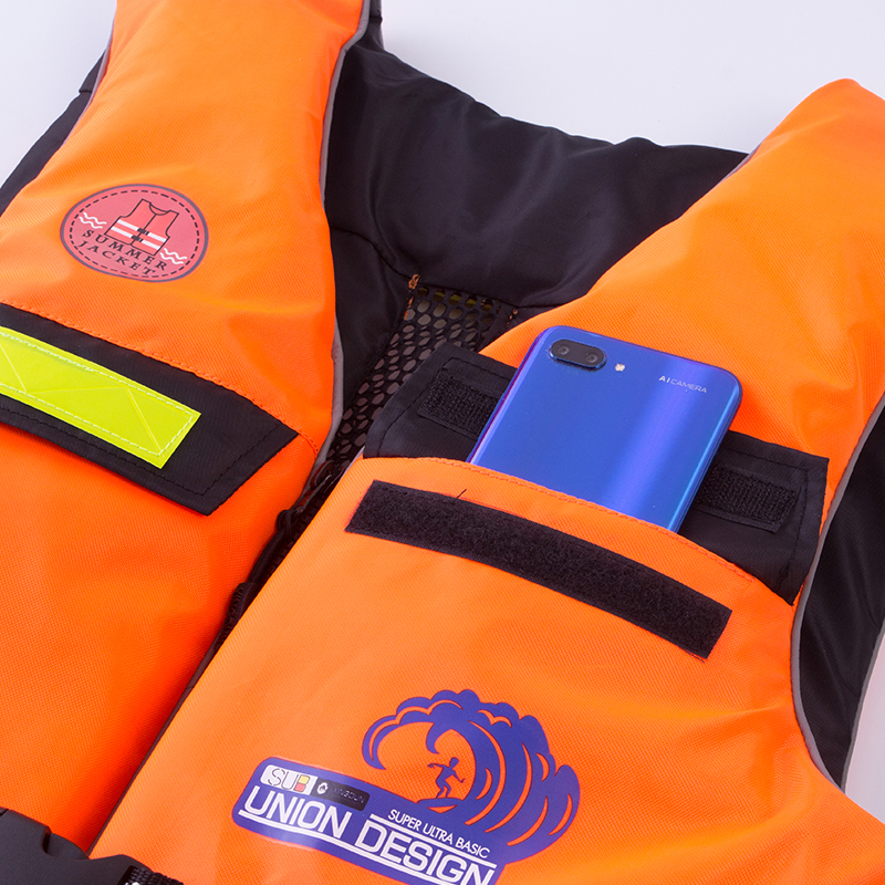 Temperate Xingdun Polyester Adult Life Vest Swimming Boating Drifting Life Vest With Whistle S-xxl Sizes Water Sports Safety Jacket Life Vest