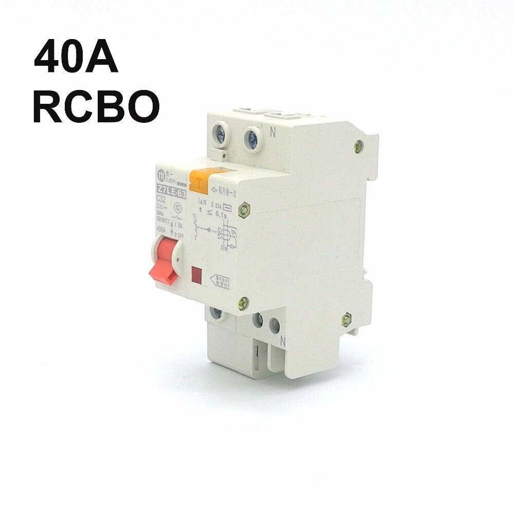 DZ47LE 1P+N 32A 230V~ 50HZ//60HZ Residual current Circuit breaker RCBO