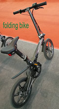 Electric Bicycle Magnesium Alloy Folding Bike 16inch Mini Size Lithium Battery 36v 250w Light Weight Disc Brake CE Certificated