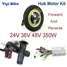 цена на 24V-48V 350W 12inch Electric Vehicle DC Motor Brushless Motor controller Electric Bicycle ebike Scooter Throttle conversion Kit