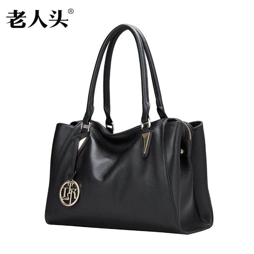 LAORENTOU New women leather bag famous brands fashion Casual Boston bag women leather handbags shoulder bag laorentou brand 2017 new women leather bag famous brands fashion simple quality women genuine leather handbags shoulder bag