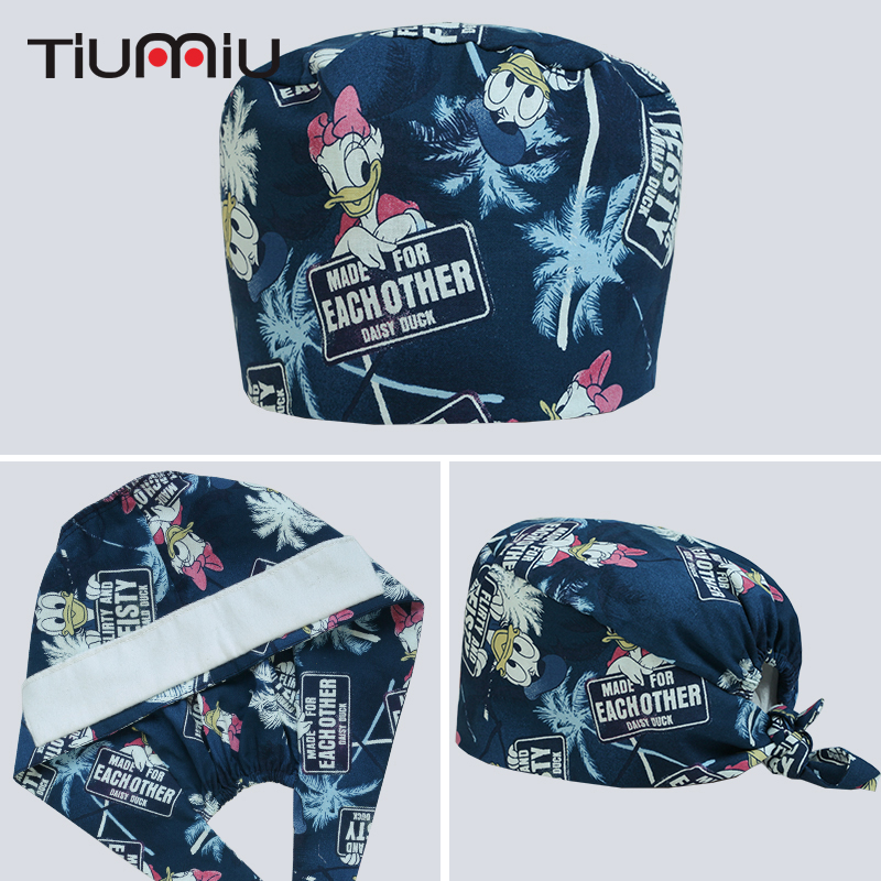 Work Wear & Uniforms Back To Search Resultsnovelty & Special Use Cheap Price Mouse Printed Medical Cap Clinic Surgical Hospital Doctor Hat Laboratory Pharmacy Beauty Salon Workwear Cotton Hat For Men Women