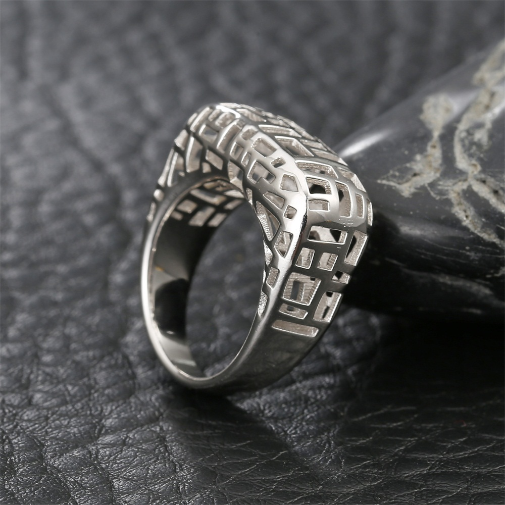 Legenstar anneaux de mariage pour femmes Vintage anneau de doigt évider argent 925 bijoux bague de fiançailles 3 dimensions anneaux de Designer