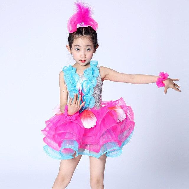 Children Professional Latin Dance Dress for Girls Ballroom Dance Competition Dresses kids Modern Waltz/tango  sc 1 st  AliExpress.com & Children Professional Latin Dance Dress for Girls Ballroom Dance ...