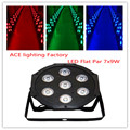 Hot selling Black LED Par Can 64 LED Par64 LED Tri 7 RGB 7x 9W 3in1 chandelier factory directly sale