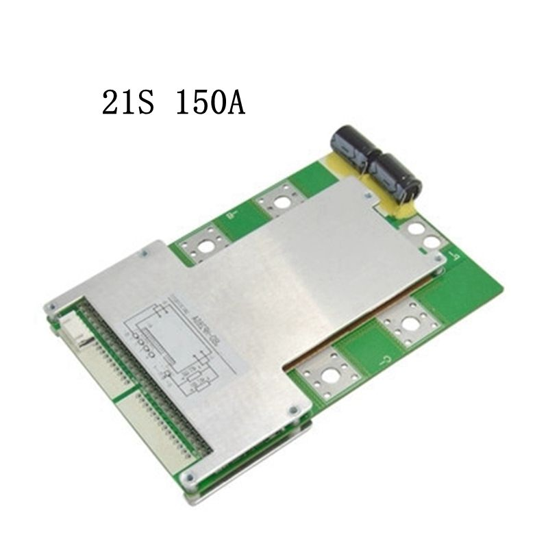 New arrival 21S 150A high current with Balance Same port BMS Lithium battery protection board Iron lithium polymer board