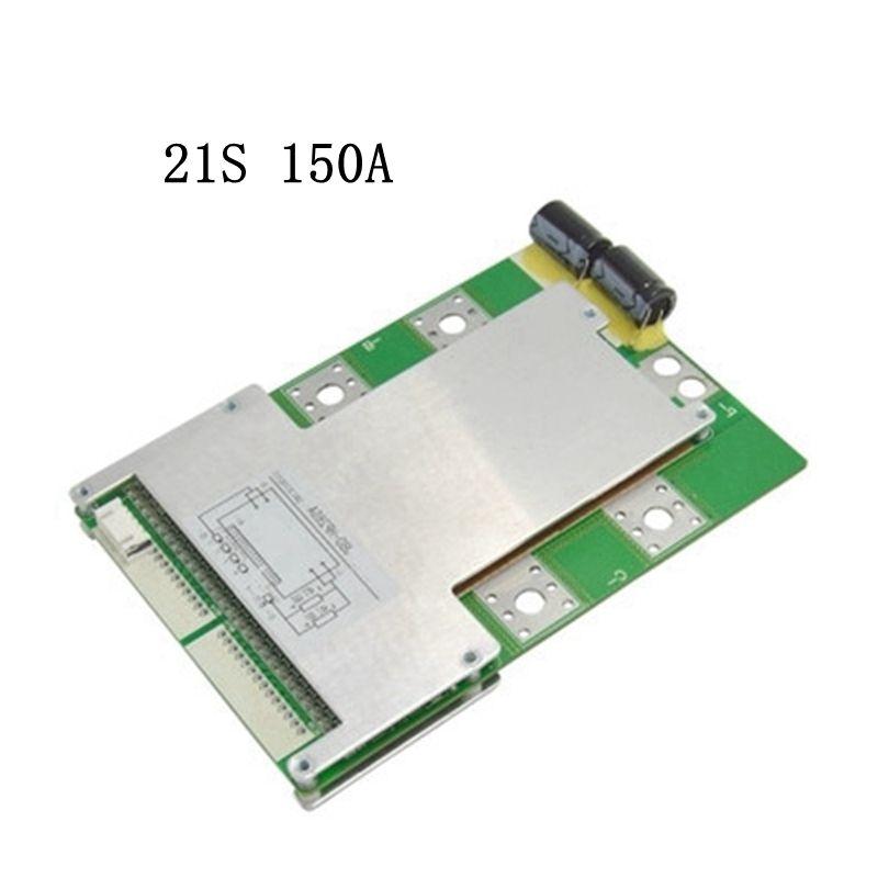 Nouveauté 21 S 150A courant élevé avec équilibre même port BMS batterie au Lithium panneau de protection fer lithium polymère panneau