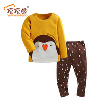 Kids Clothes Set Baby Boys Girls Clothes Suit Toddler Boys Clothing Long Sleeve Tshirt Pants Casual
