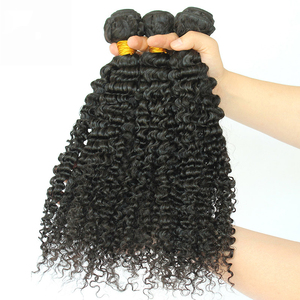 Image 3 - Brazilian Afro Kinky Curly Hair Weave 100% Natural Remy Human Hair Bundles Extension 3B 3C Dolago Hair Products