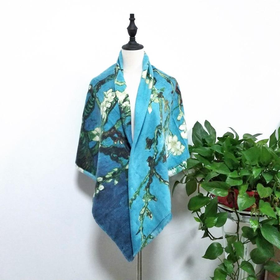 Women Square   Scarf   Cashmere Warm Winter Soft Shawl Print Foulard Foral Large Blanket   Wrap   Pashmina HOT [2364]