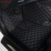 Car wind leather Auto car floor Foot mat For mercedes w211 cla w212 e klasse gla w176 glk w211 w245 gle a180 car accessories